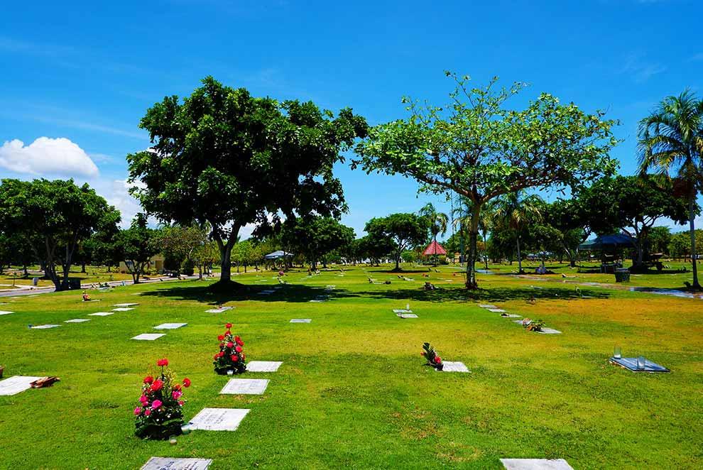 Manila Memorial Park Lawn