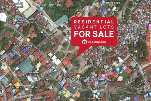 3 Adjacent Titled Vacant Lots For Sale within Atillo Subdivision Labangon Cebu City