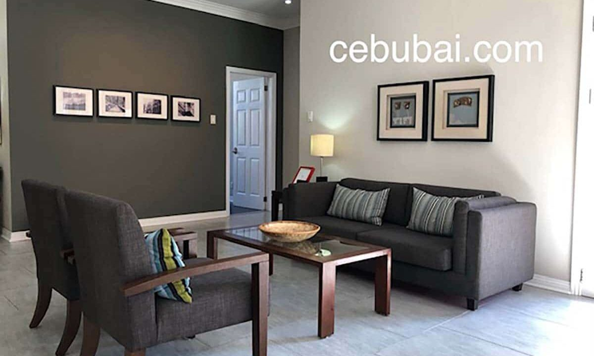 3-Bedrooms-Elegant-and-Spacious-House-For-Sale-in-Silver-Hills-Talamban-Cebu-City-Living-Area