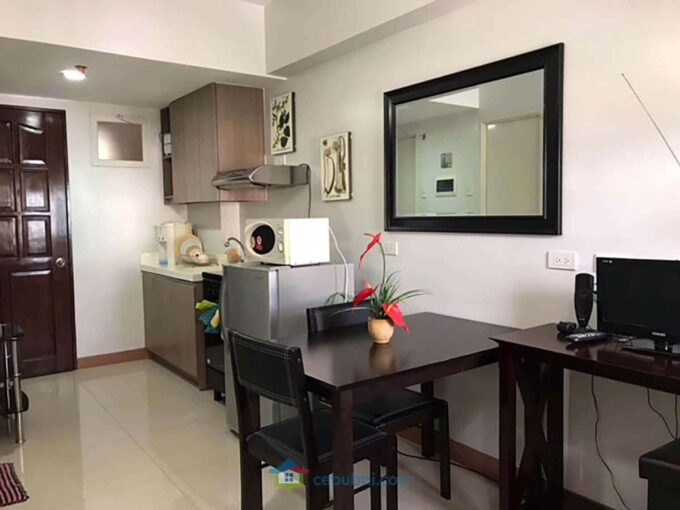 Fully Furnished Studio For Rent in La Guardia Flats 2, Salinas Drive, Lahug, Cebu City