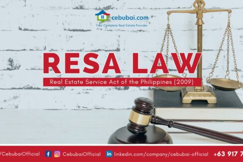 Real Estate Service Act of the Philippines 2009 RESA LAW