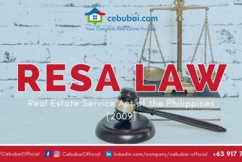 Real Estate Service Act 9646 by Cebubai