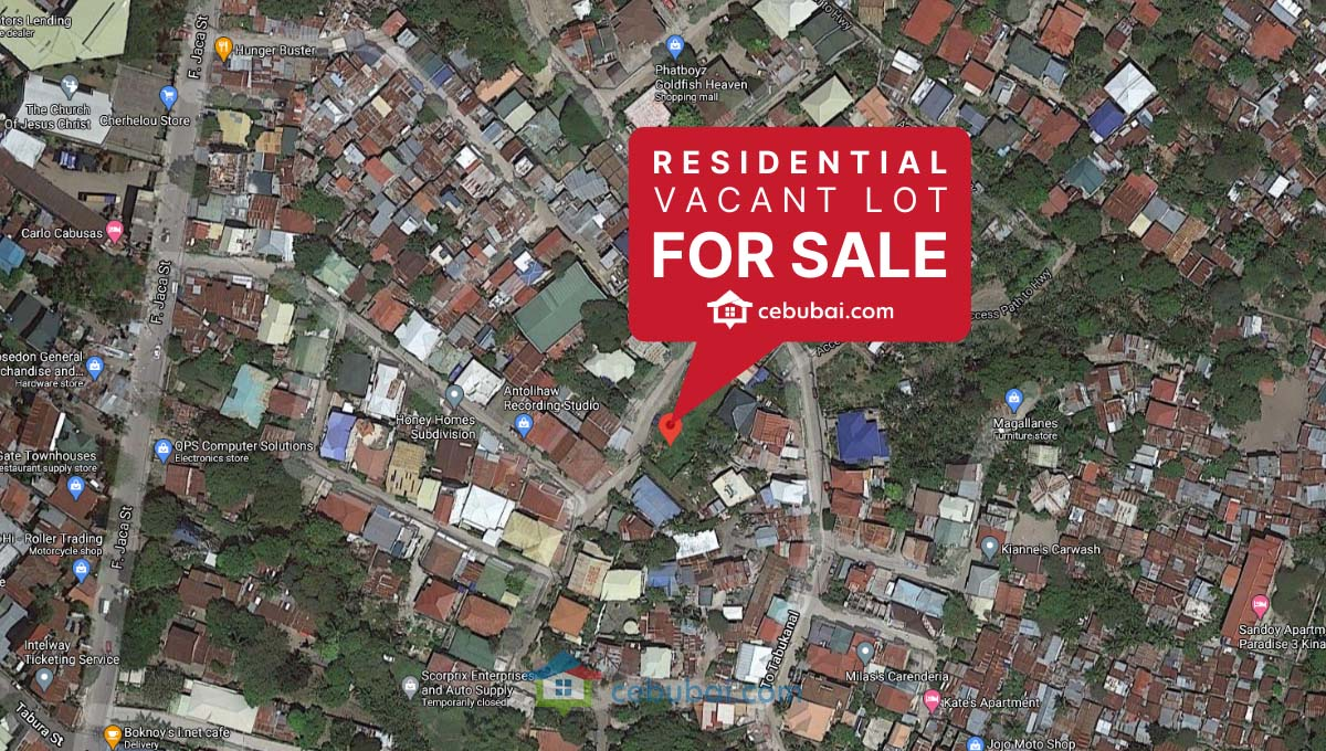 323 SqM Residential Lot for Sale in Kinasang-An, Pardo