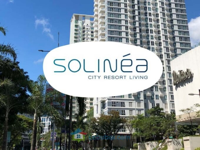 Minimalist Studio Condo For Rent in Solinea Tower 2, Cebu Business Park, Cebu City