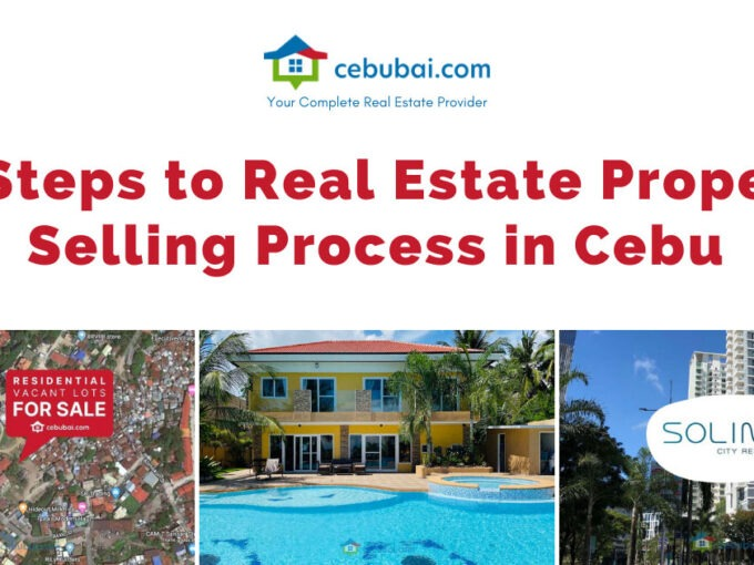 10 Steps to Real Estate Property Selling Process in Cebu by Cebubai