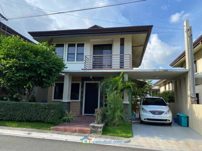 2 Story House For Sale with Landscaped Garden in Woodland Park Residences, Liloan, Cebu