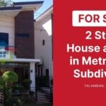 2 Story House and Lot for Sale in Metropolis Subdivision