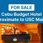 Cebu Budget Hotel For Sale Proximate to USC Main