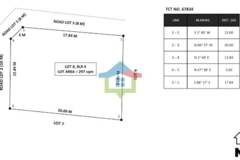 Corner-Bungalow-House-and-Lot-For-Sale-Banawa-Cebu-City-Lot-Map