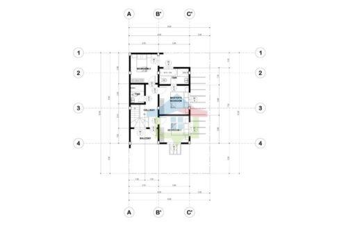 4 BR House For Sale in Minglanilla, Cebu (Second Floor Plan)
