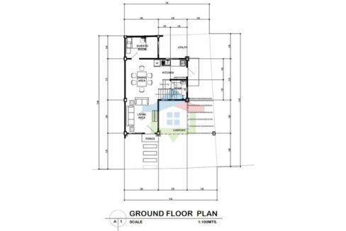 Brand New 4-BR Seaside Living House For Sale in Cebu-Ground-Floor