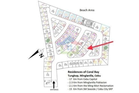 Brand New 4-BR Seaside Living House For Sale in Cebu-Map